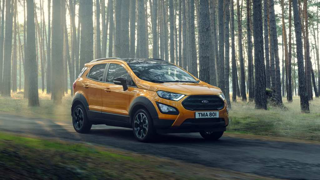 2021 Ford EcoSport Gains New Active Variant In Europe