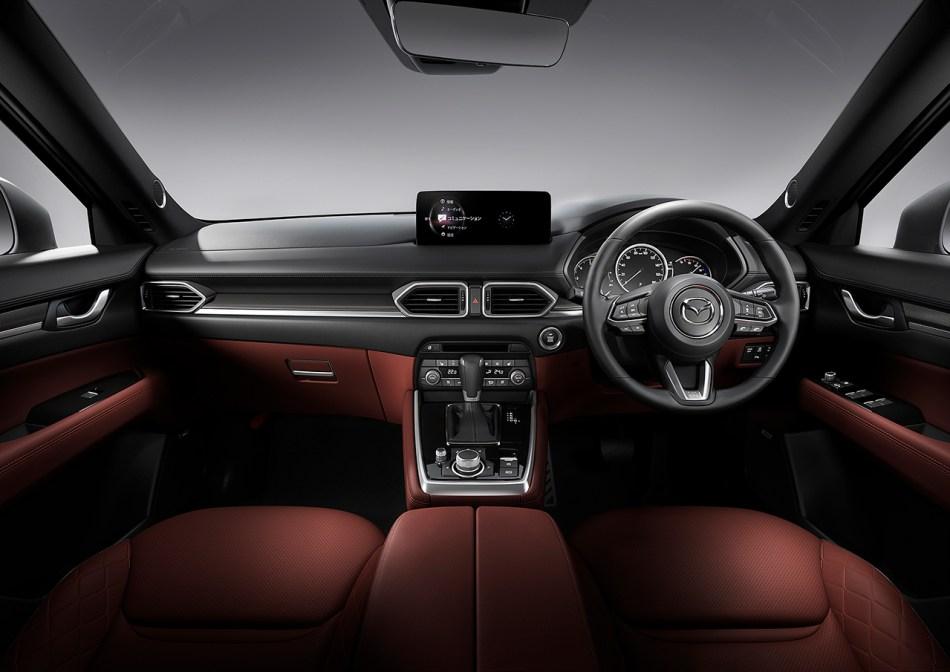 2021 Mazda CX-8 Exclusive Mode Interior