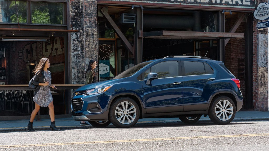 A Generous P538K Discount Is Available On The Chevrolet Trax This Month