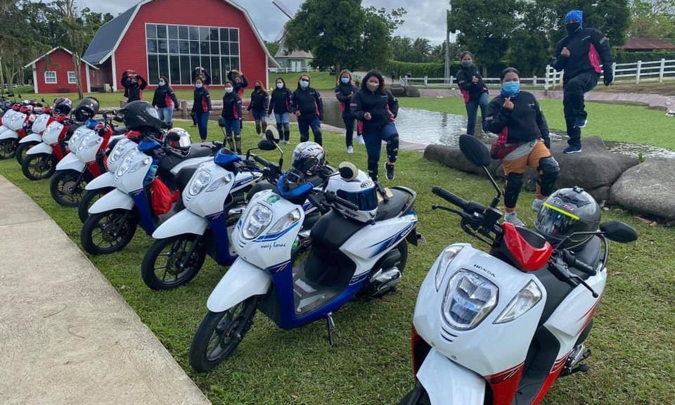 These Female Honda Genio Riders Went On A Road Trip Of A Lifetime