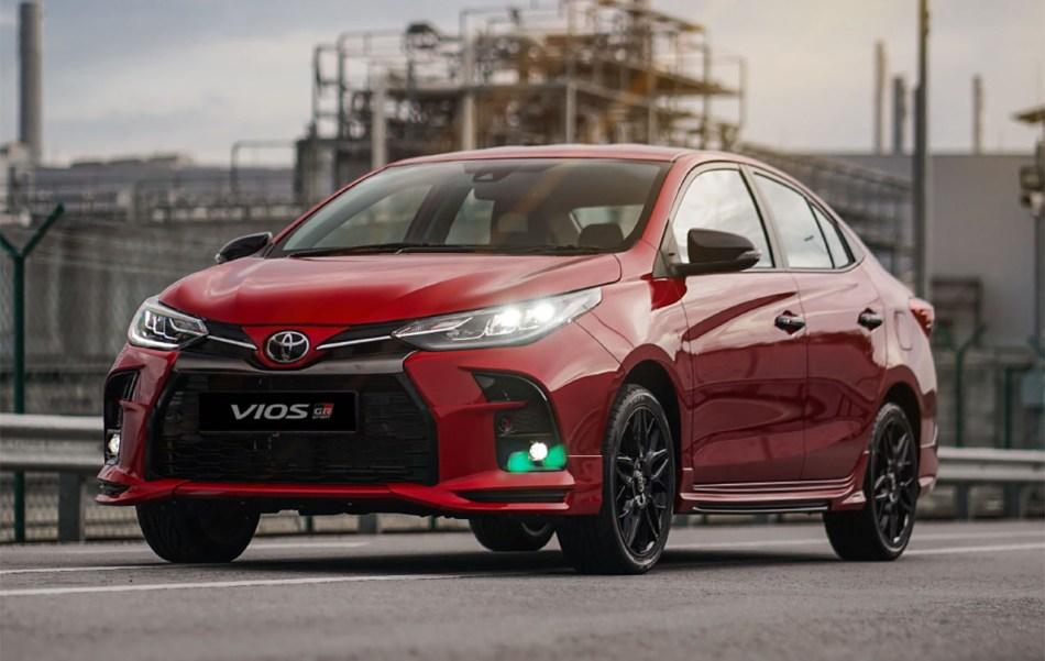 2021 Toyota Vios GR Sport Exterior