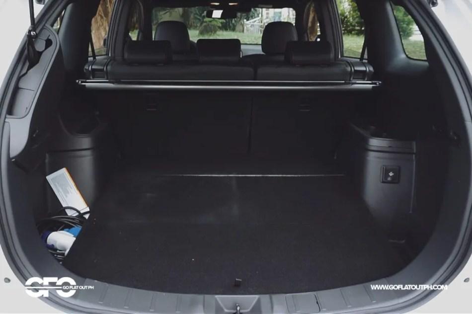2021 Mitsubishi Outlander PHEV Philippines 463 liters trunk