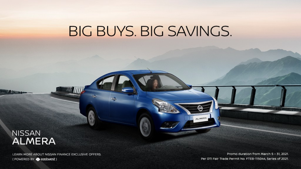Own The Nissan Almera For As Low As P657K This March