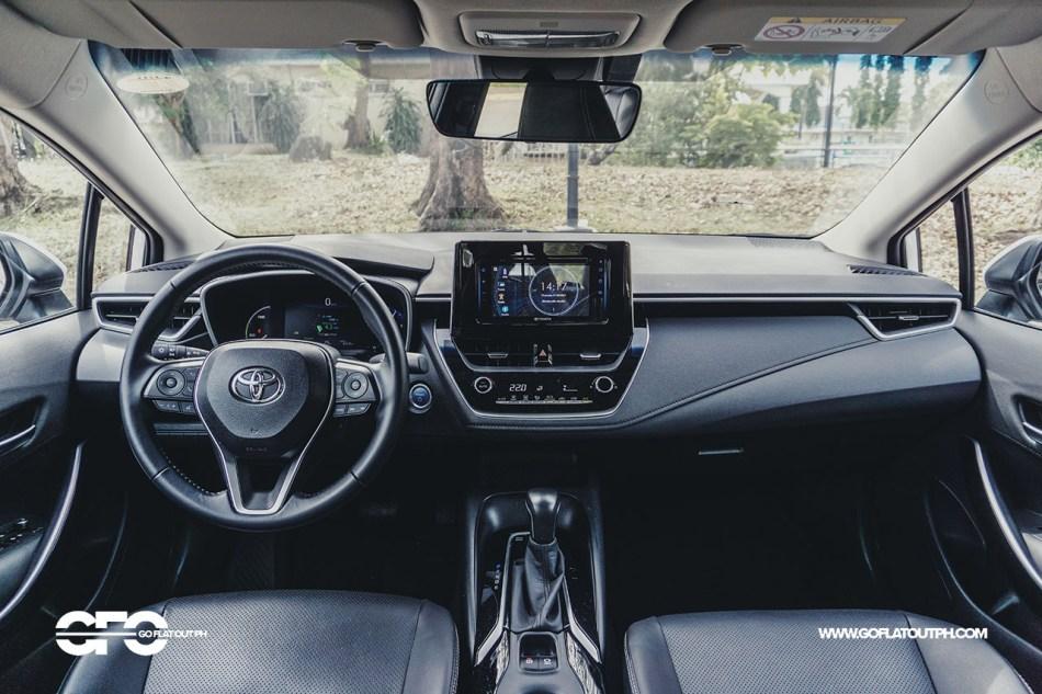 2020 Toyota Corolla Altis hybrid Philippines Interior