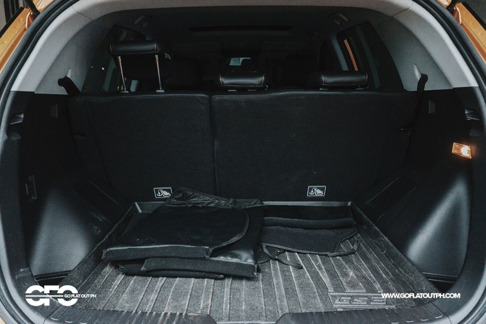 GAC GS3 200T 1.3 Turbo Philippines Trunk Space