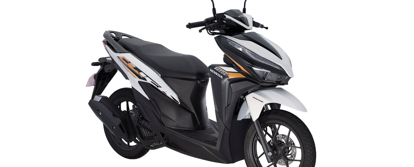 Honda Click125i Now Available In Matte Pearl Crater White