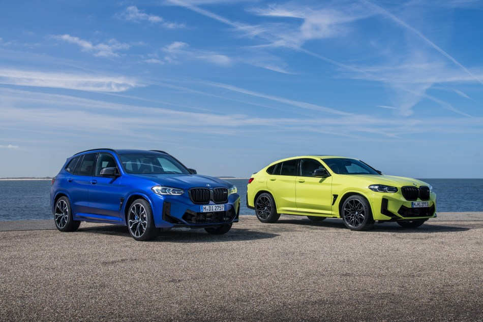 2022 BMW X3 and X4 M