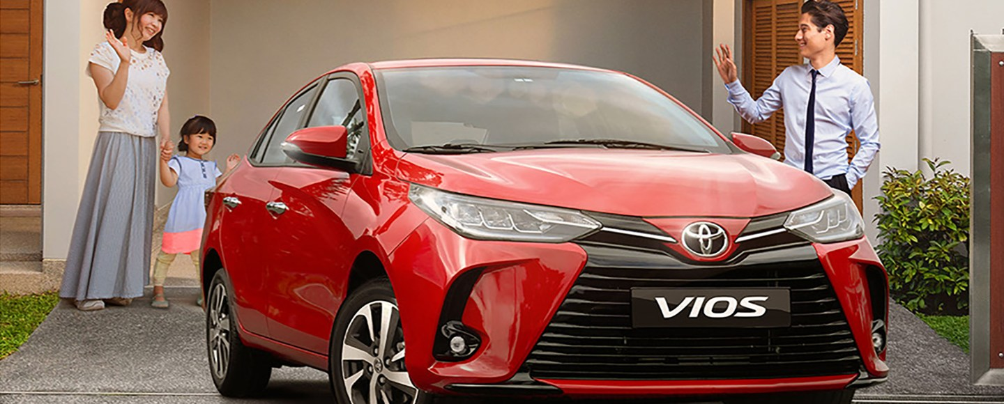 Bring Home The Toyota Vios For As Low As P7,212 Per Month This June