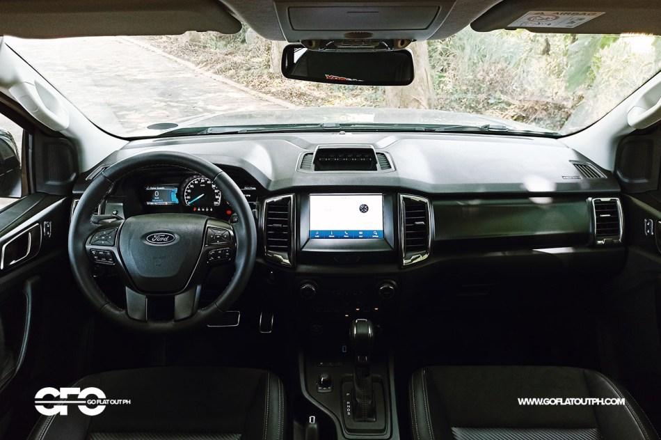 2021 Ford Ranger FX4 Max Philippines Interior