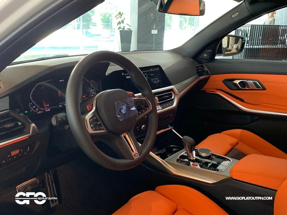 2021 BMW M3 Competition Interior Philippines