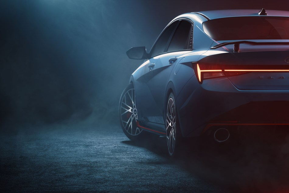 High-Performance Hyundai Elantra N Teased Before Official Debut