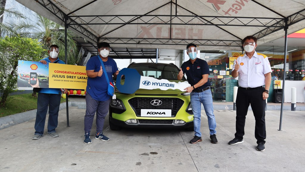 First-Time Car Owner Wins A Hyundai Kona From Shell's Raffle Promo