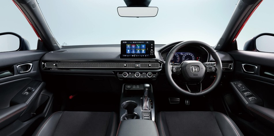 2022 Honda Civic hatchback interior