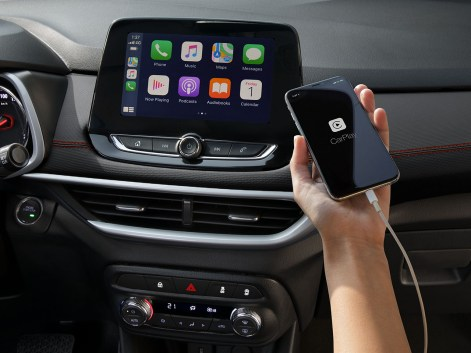 Chevrolet MyLink Infotainment System with Apple CarPlay