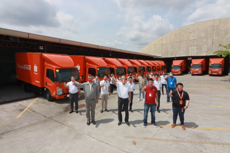 Shopee PH Chooses The Isuzu NMR85H To Transport Your Goods