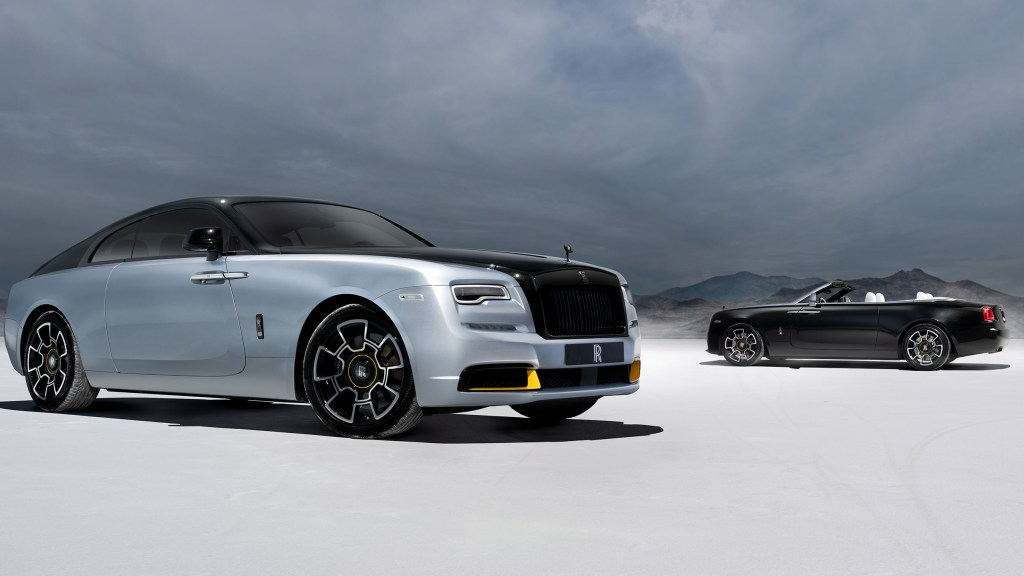 Rolls-Royce Unveils New Wraith And Dawn Landspeed Collection