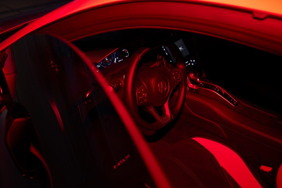 2022 Honda NSX Type S Interior