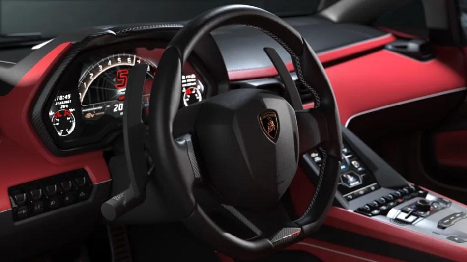 Lamborghini Countach LPI 800-4 Interior