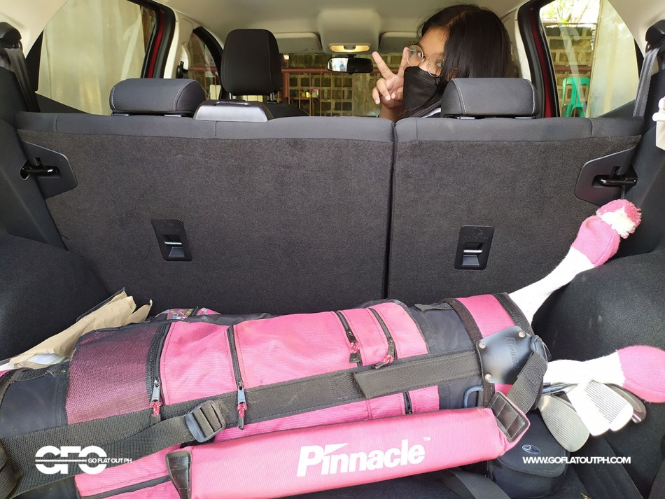 2021 Ford EcoSport Trend Philippines Trunk Space