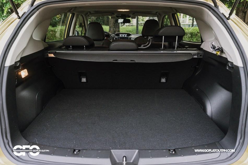 2021 Subaru XV 2.0i-S EyeSight Philippines Trunk Space