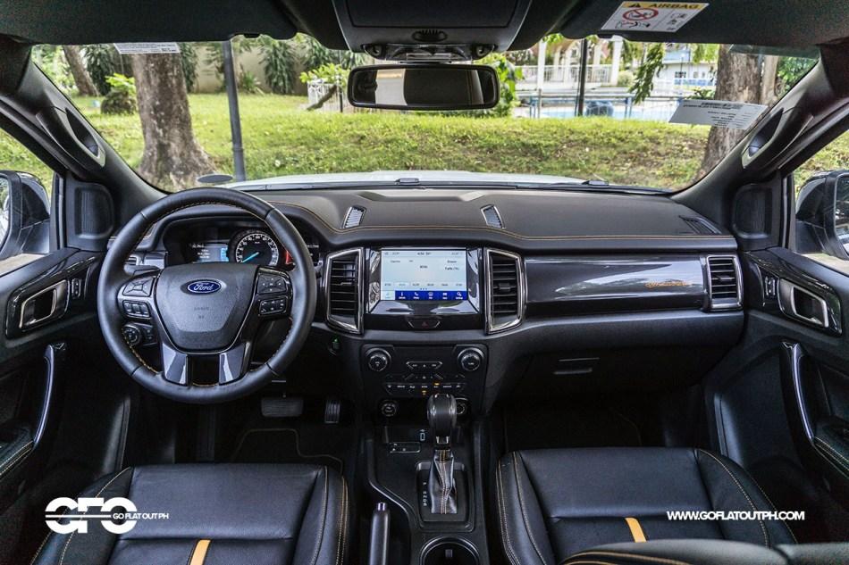 2021 Ford Ranger Wildtrak 2.0 4x2 Interior Philippines