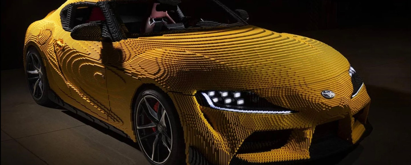 This Drivable Lego Toyota GR Supra Is Made Out Of 477,303 Bricks