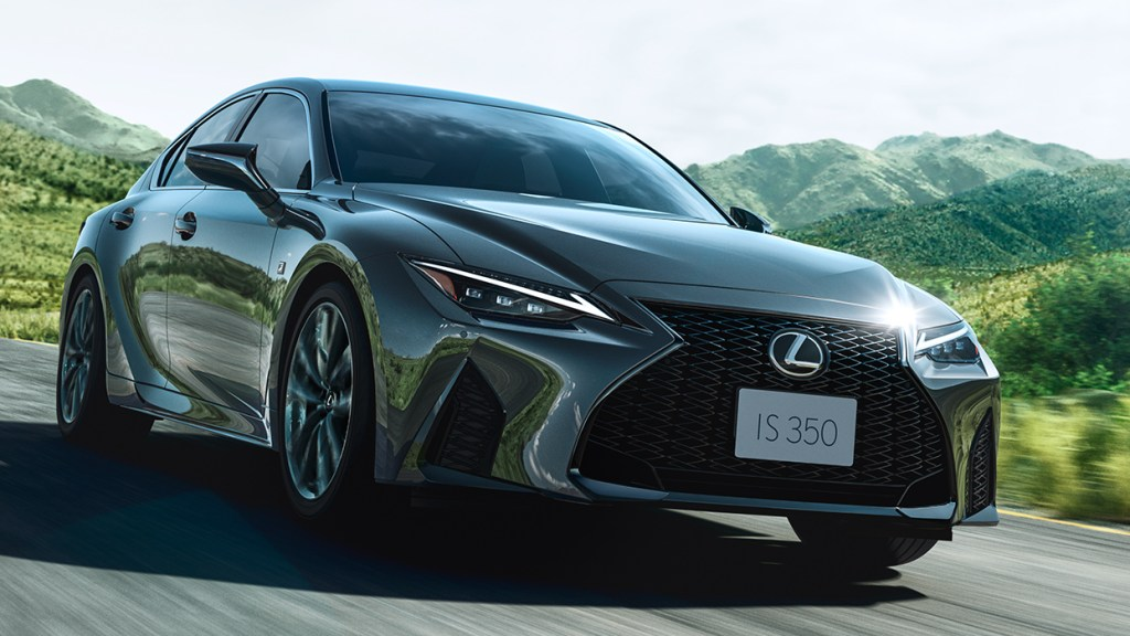 How The 2021 Lexus IS Became An Exhilarating Luxury Sport Sedan