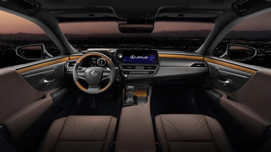 2022 Lexus ES Interior Philippines