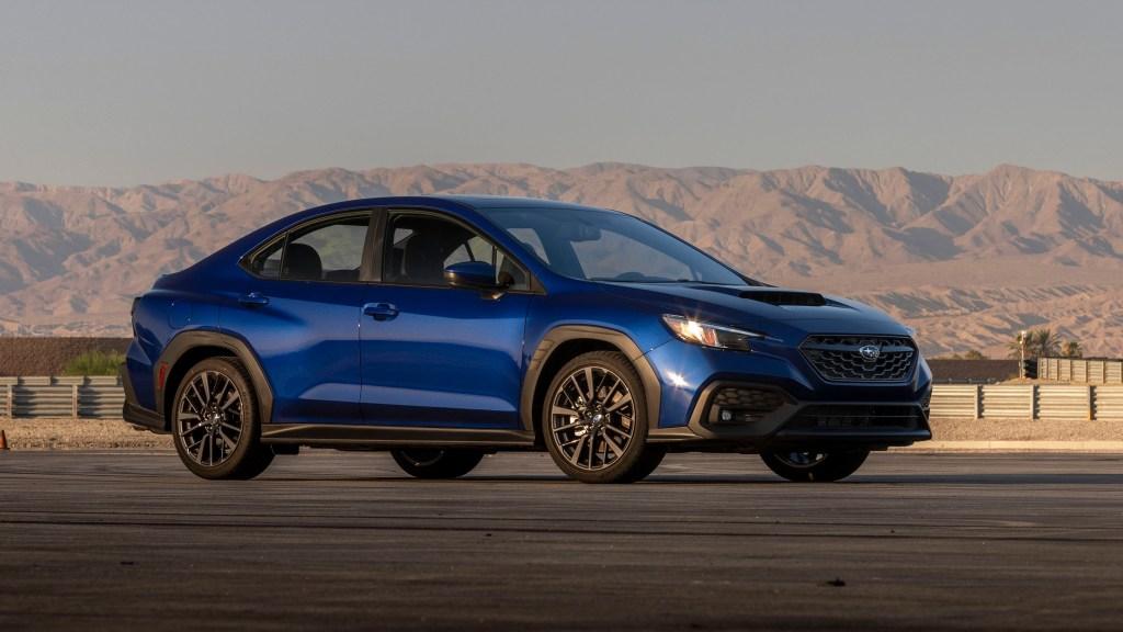All-New 2022 Subaru WRX Is A 271-HP Sports Sedan With Body Cladding