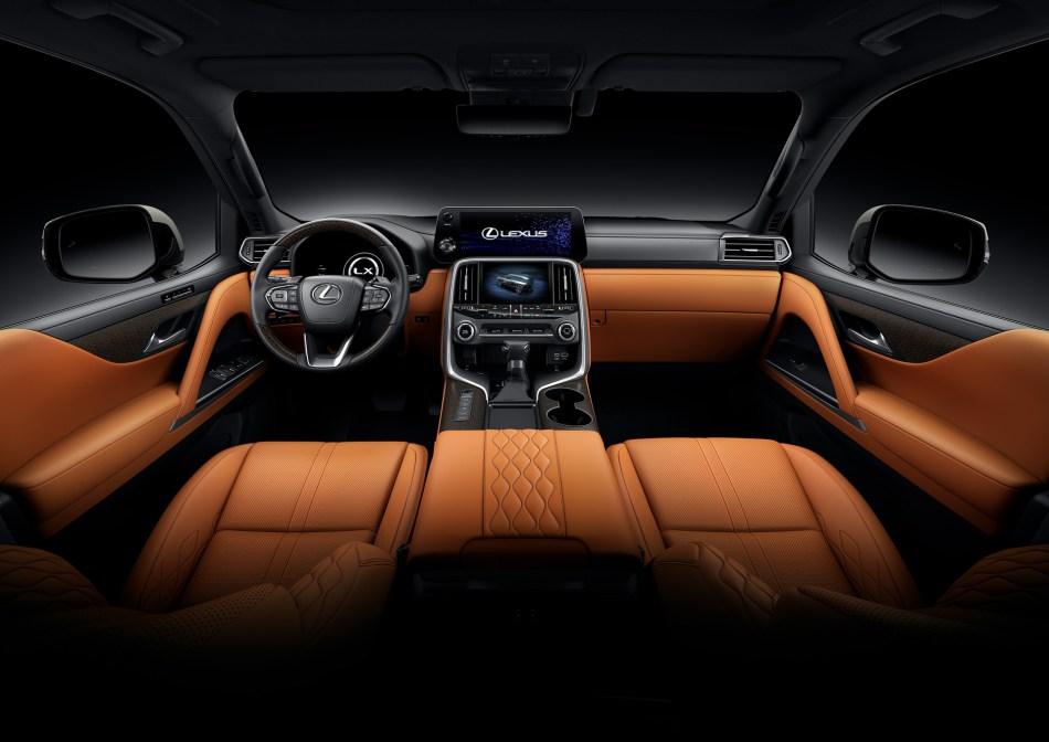 2022 Lexus LX Interior