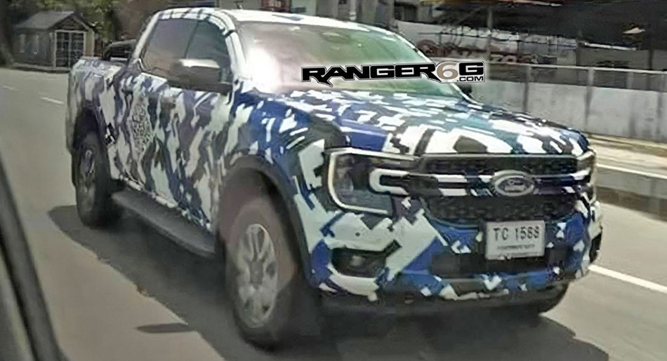 Next-Generation Ford Ranger Spied With Its Maverick-Like Front End