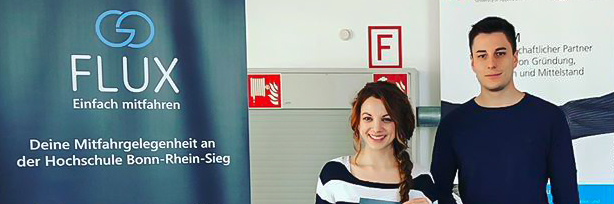goFLUX; Hochschule Bonn-Rhein-Sieg; HBRS; Infostand