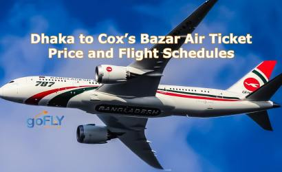 Dhaka to Cox's Bazar Air Ticket Price and Flight Schedules