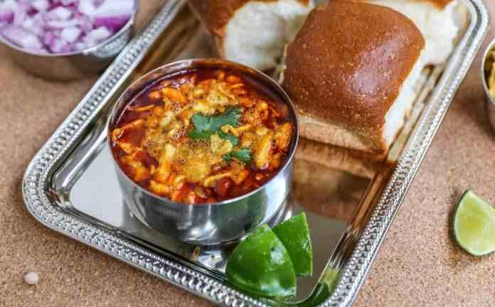Usal Pav   Spicy Misal Pav-Kolhapuri Style