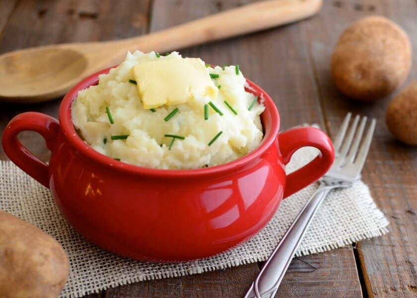 Mashed Potatoes With A Creamy Touch