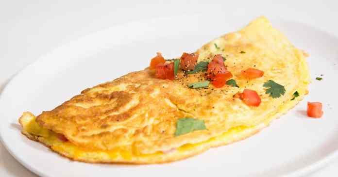 Vegetable Omelette - Mix & Match