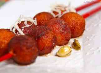 Sweet Sausage Recipe alias Roti Ke Gulaab Jamun