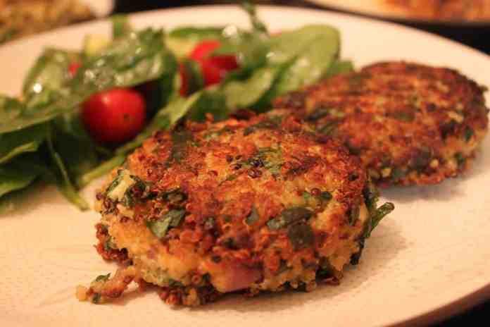 Spinach Quinoa Patties