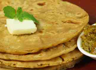 Mix Vegetable Paratha Recipe - Flatbread Stuffed with Mix Vegetable