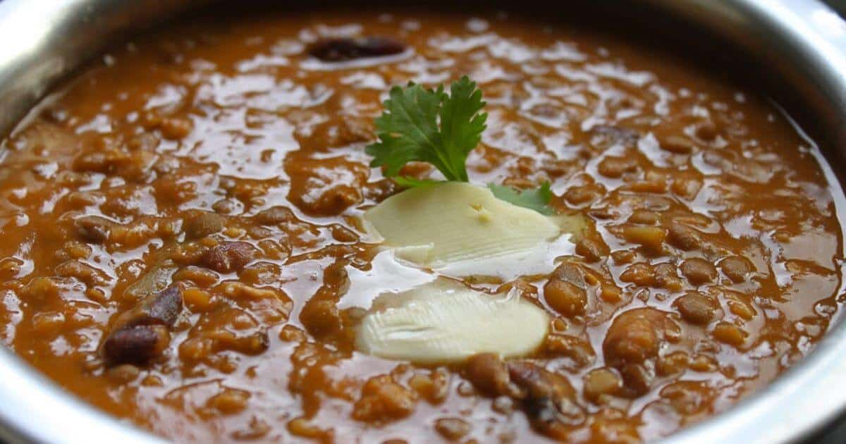 Makhani Dal – Slow Cooked Lentils With Spices And Butter