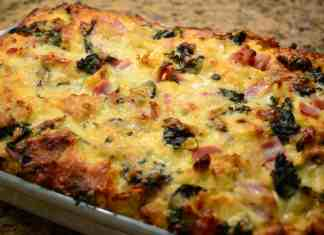 Spinach Bread Pudding
