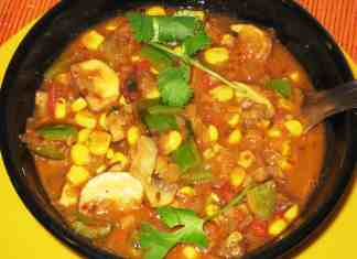 Mushroom Corn Curry