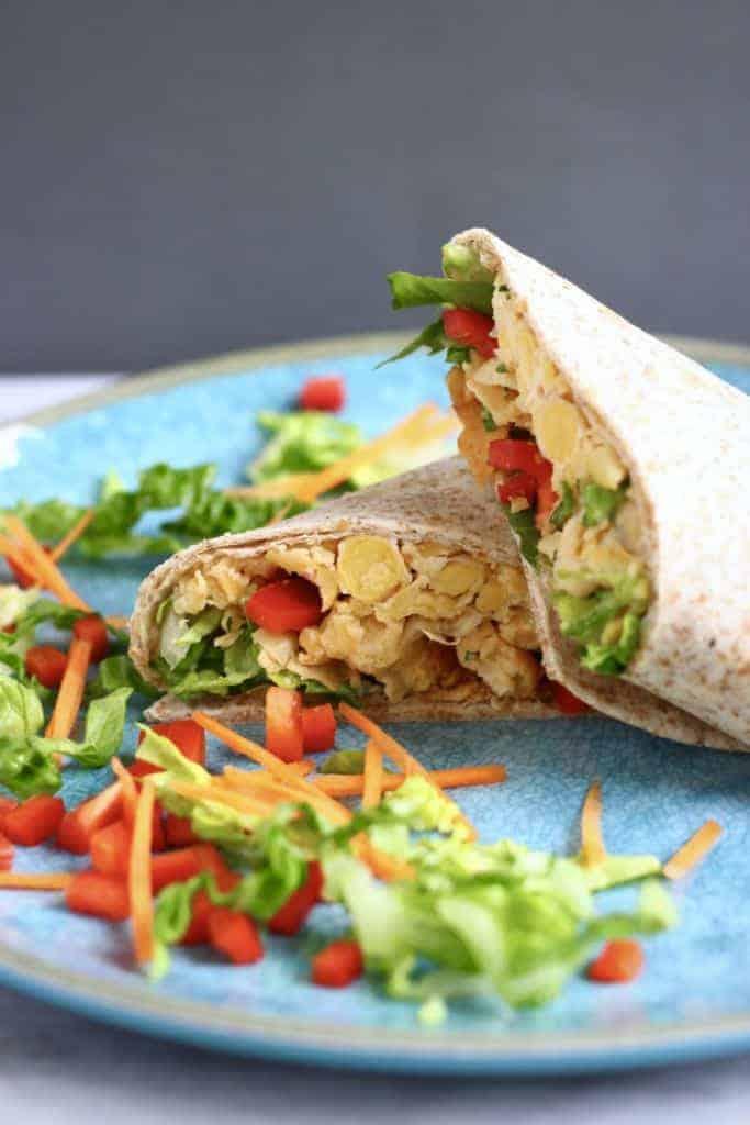 Chickpea Salad Wrap