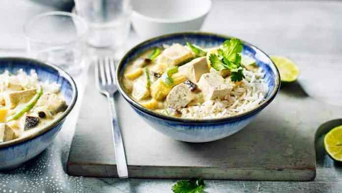 Tofu Green Curry
