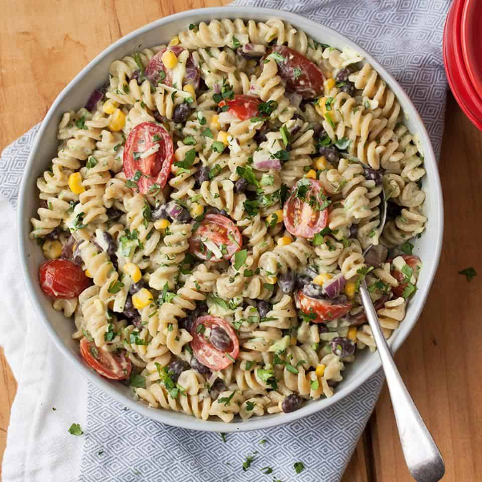 Zucchini Pasta Salad – Simple And Healthy