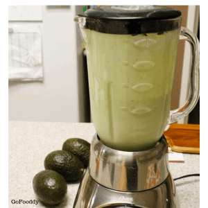 avocado blending