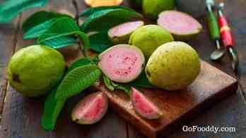cut guava