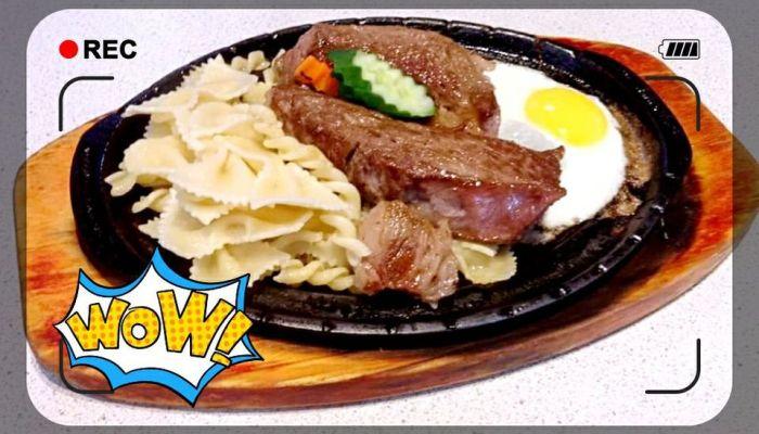 鮮利牛排館 台南餐廳 料好實在的鐵板牛排