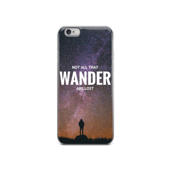NOT ALL THAT WANDER ARE LOST-iphone-case
