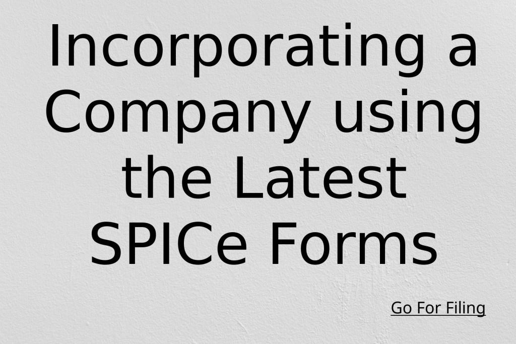 Incorporation of Companies